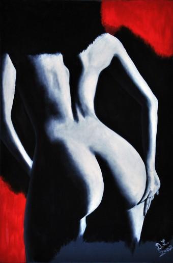 Körper aus Licht und Schatten #3
